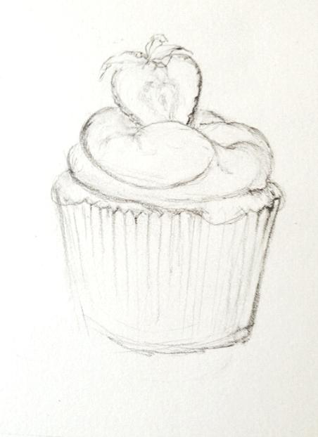 Cupcakestrawberry